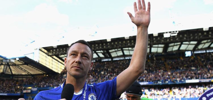 John Terry became a legendary figure Chelsea.