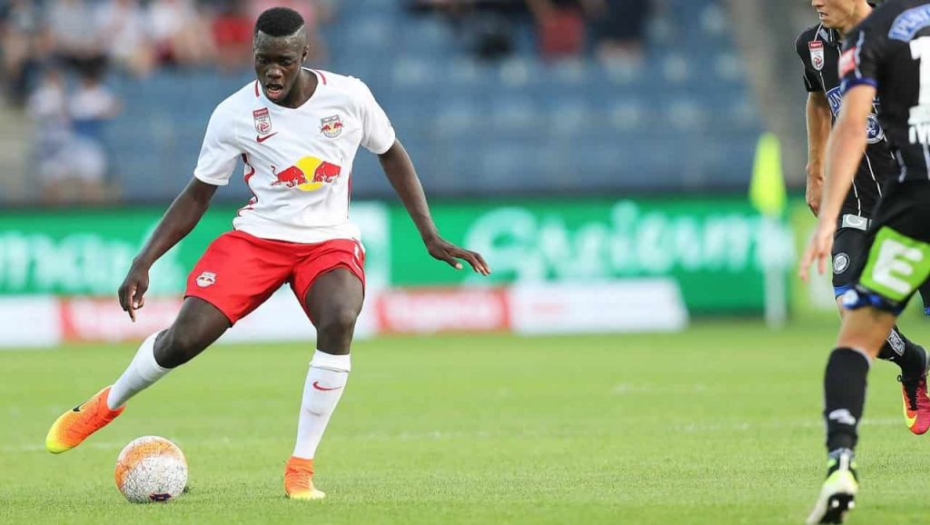 Why is the interest in Dayot Upamecano high?