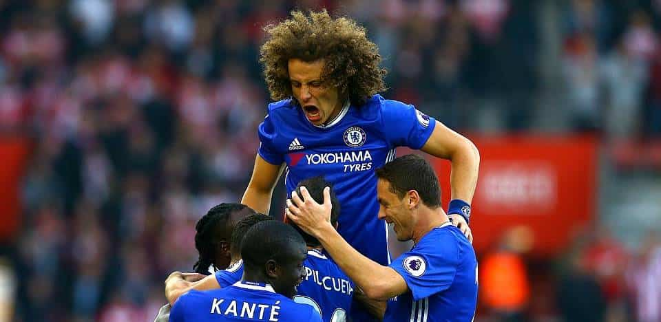 David Luiz Chelsea players
