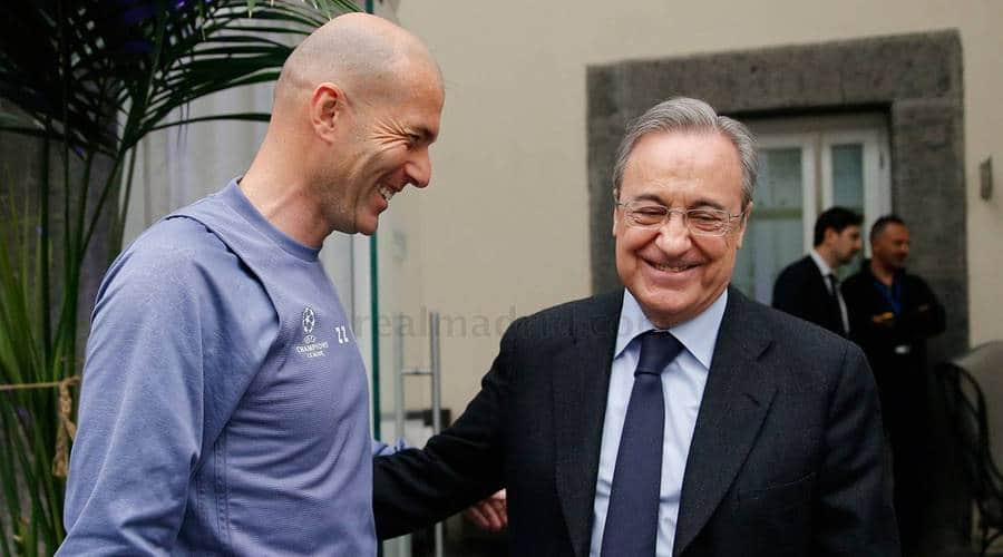 Zinedine Zidane 'makes contact with Eden Hazard'