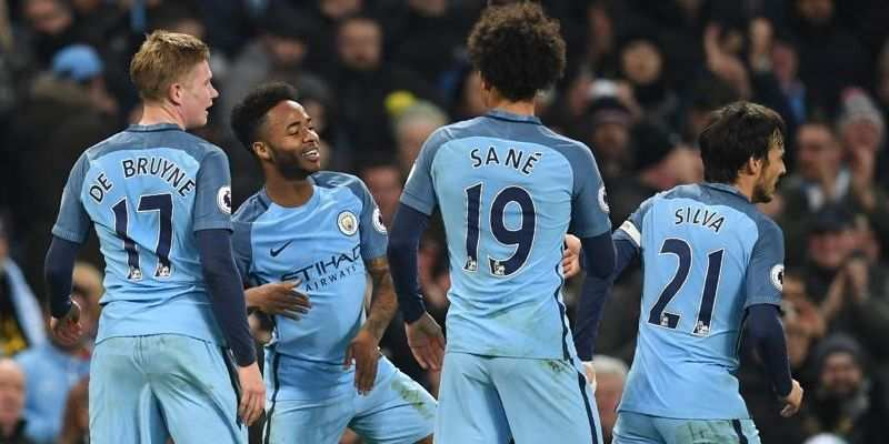 Manchester City's Raheem Sterling named Premier League player of the month