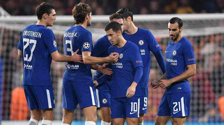 Alvaro Morata remains sidelined for Chelsea's clash at home to Newcastle United
