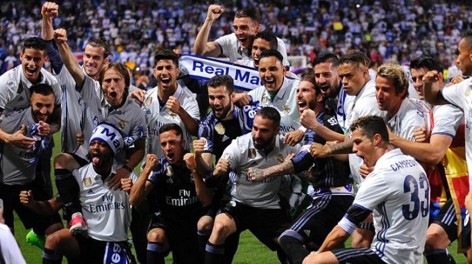 Ronaldo hits brace as Madrid put four goals past Alaves