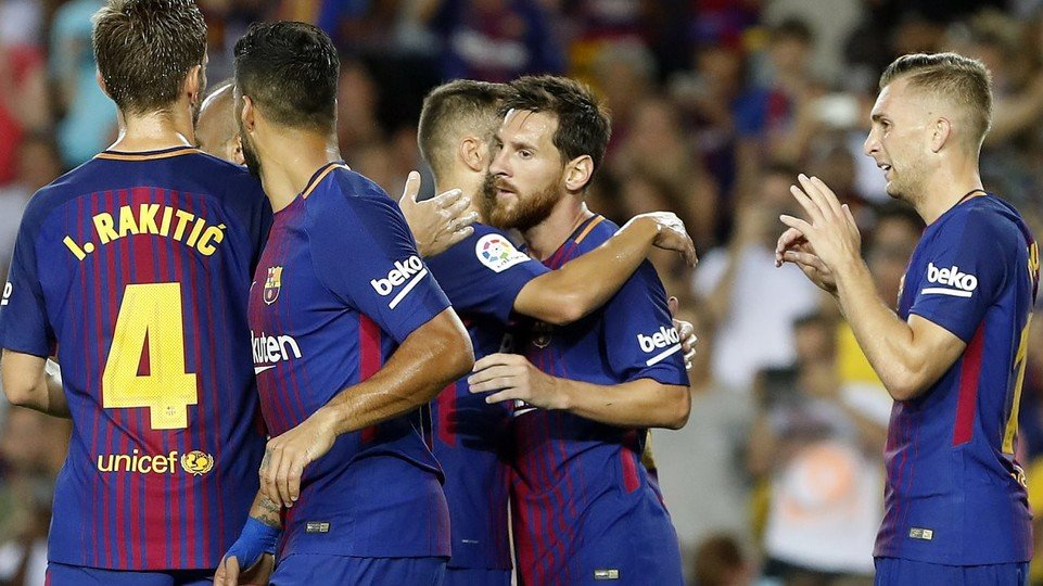 Barcelona coach Valverde happy with Copa win over Valencia