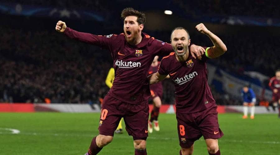 Andres Iniesta teases the world about his future at Barcelona after record victory