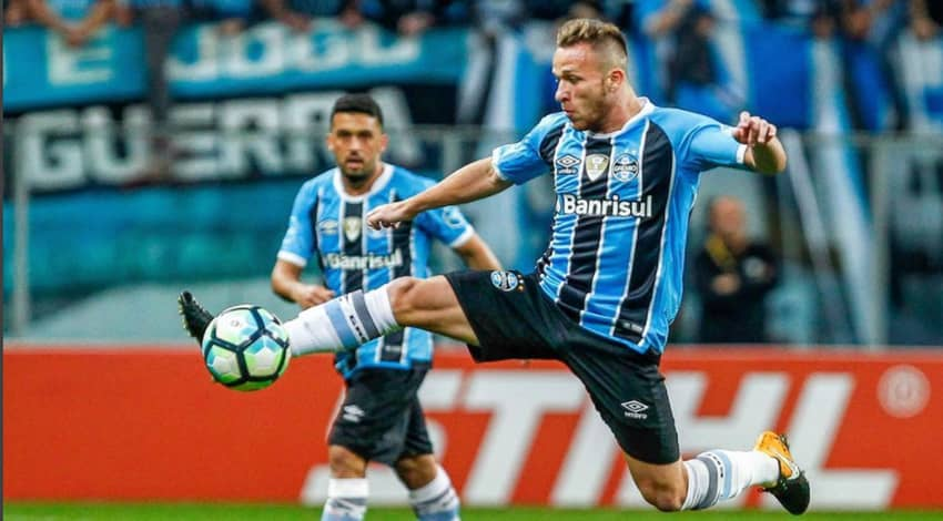 Barcelona agree almost $50 million deal for Brazilian starlet Arthur
