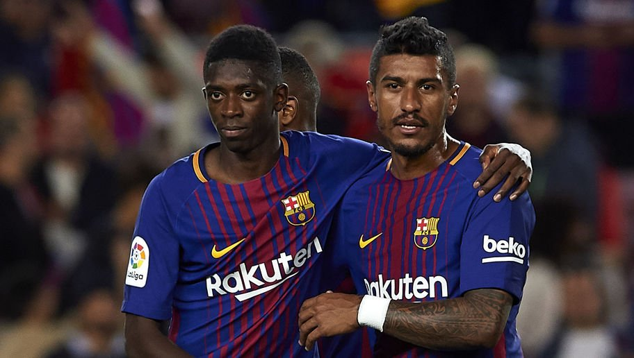 Dembele proud to be playing alongside Messi at Barcelona