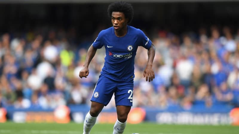 Willian admits he wants to stay at Chelsea