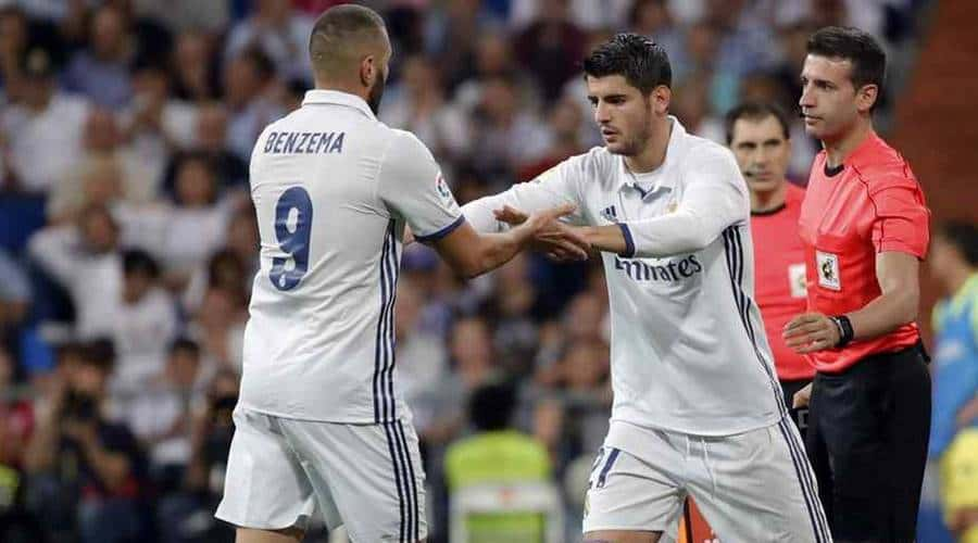 Benzema Morata Real Madrid