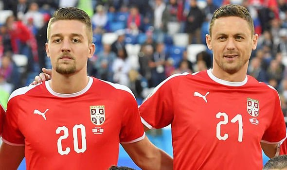 Lazio's Sergej Milinkovic-Savic targetted by united,spurs and chelsea.