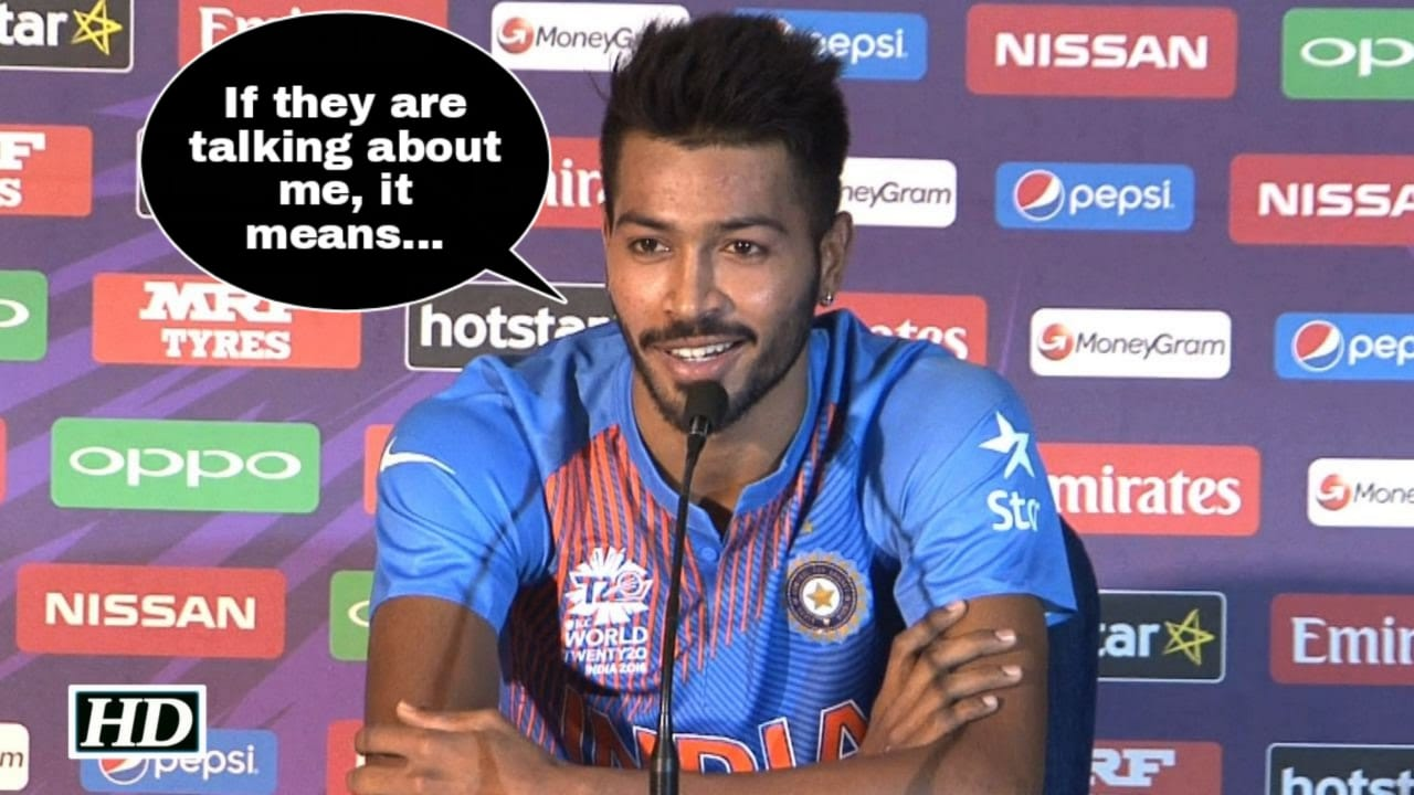 Hardik Pandya has a witty reply to the allegations made against him by cricketing legends