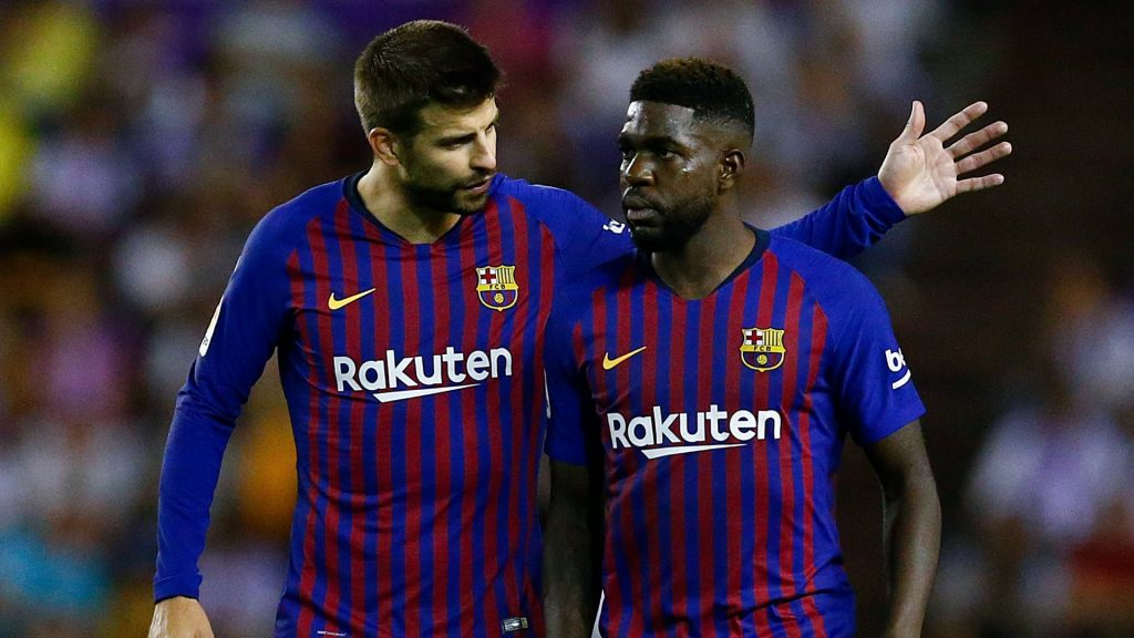 Rumors linked with Barcelona french center-back has got Arsenal fans excited.