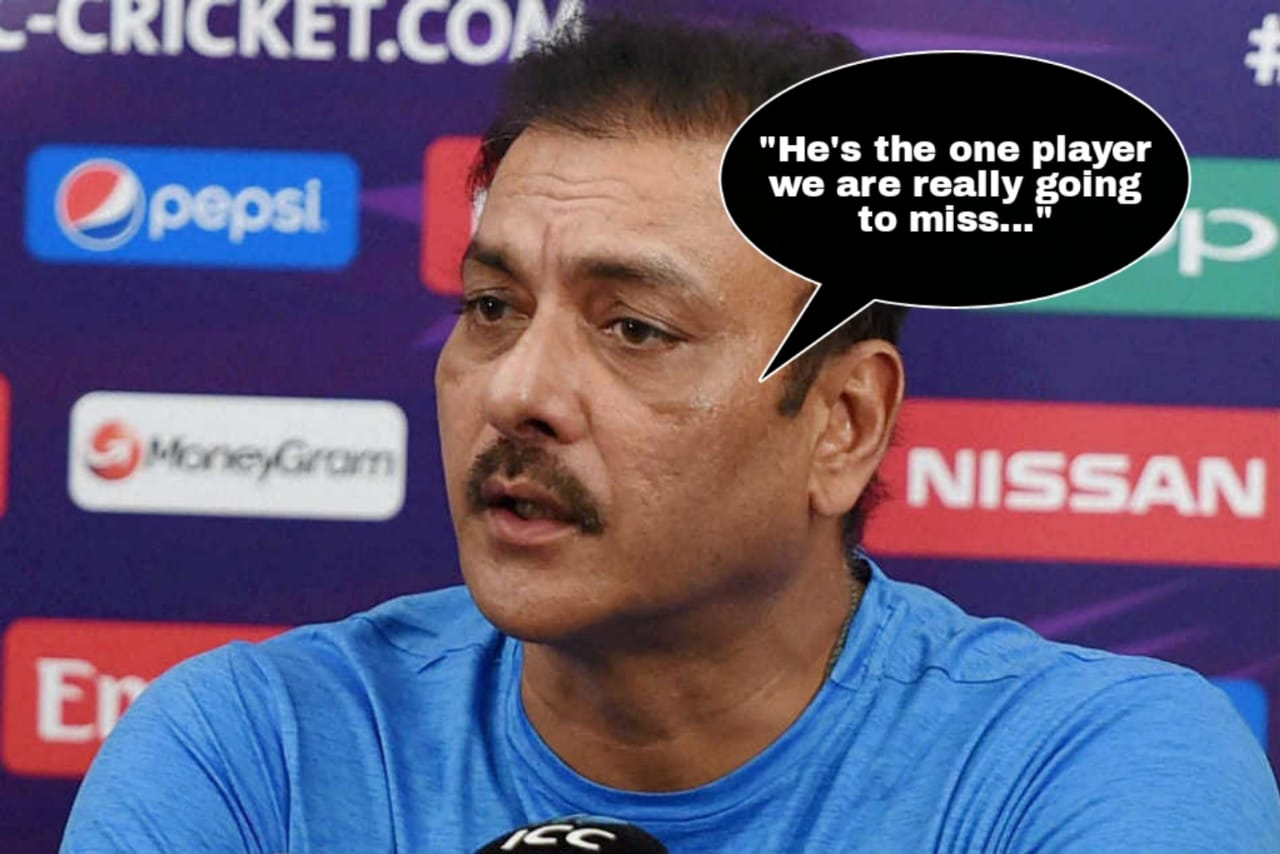 Ravi Shastri names the player India would miss the most in the forthcoming Australia tour