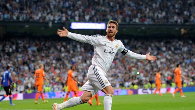 Sergio Ramos scored his 100th goal for Real Madrid
