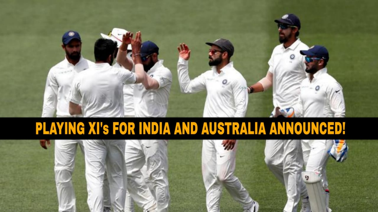 Melbourne Test: Kumble's XI drops openers, includes Mayank Agarwal