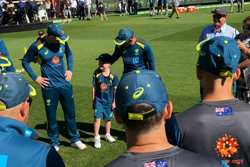 WATCH: The 7 Year Old Archie Schiller recieves his Baggy Green Cap