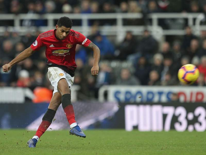 Marcus Rashford has been with United since he was seven.