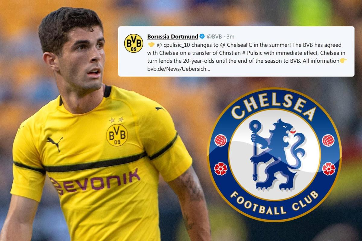 new styles 7dd7d 3b0bd Christian Pulisic joins Chelsea for £58m deal with a Twist ...