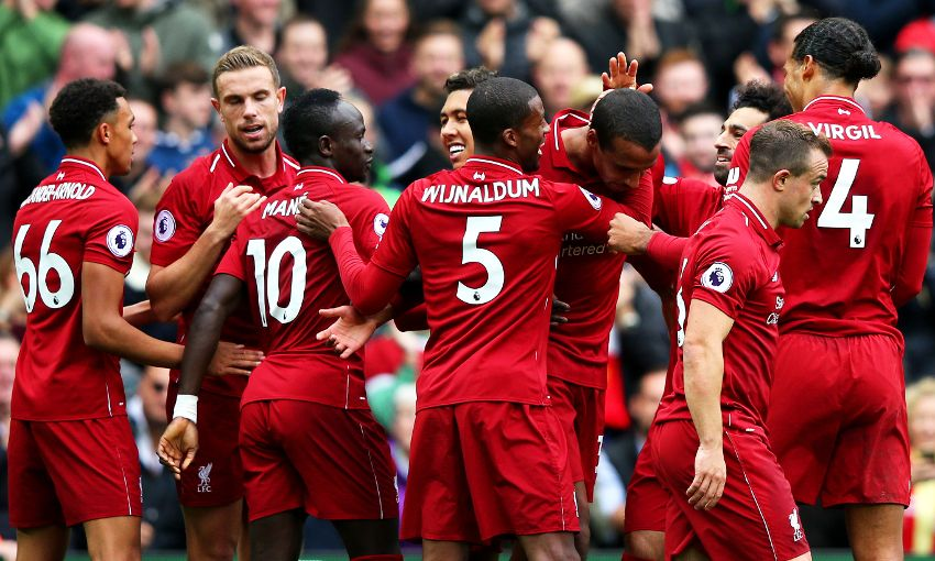 Liverpool star claims not thinking about the title win would be 'STUPID'