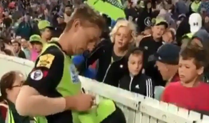 WATCH: Sams' Heart-Warming Gesture After Kid Gets Hit by Bailey's Six