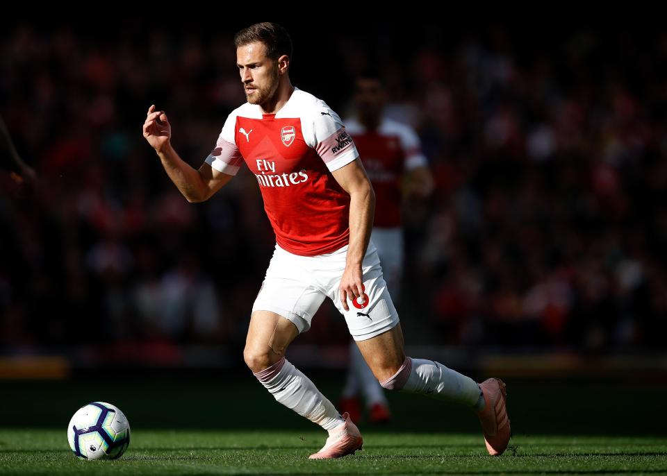 Arsenal midfielder Ramsey agrees massive $500K-a-week deal to join Ronaldo and Co. at Juventus