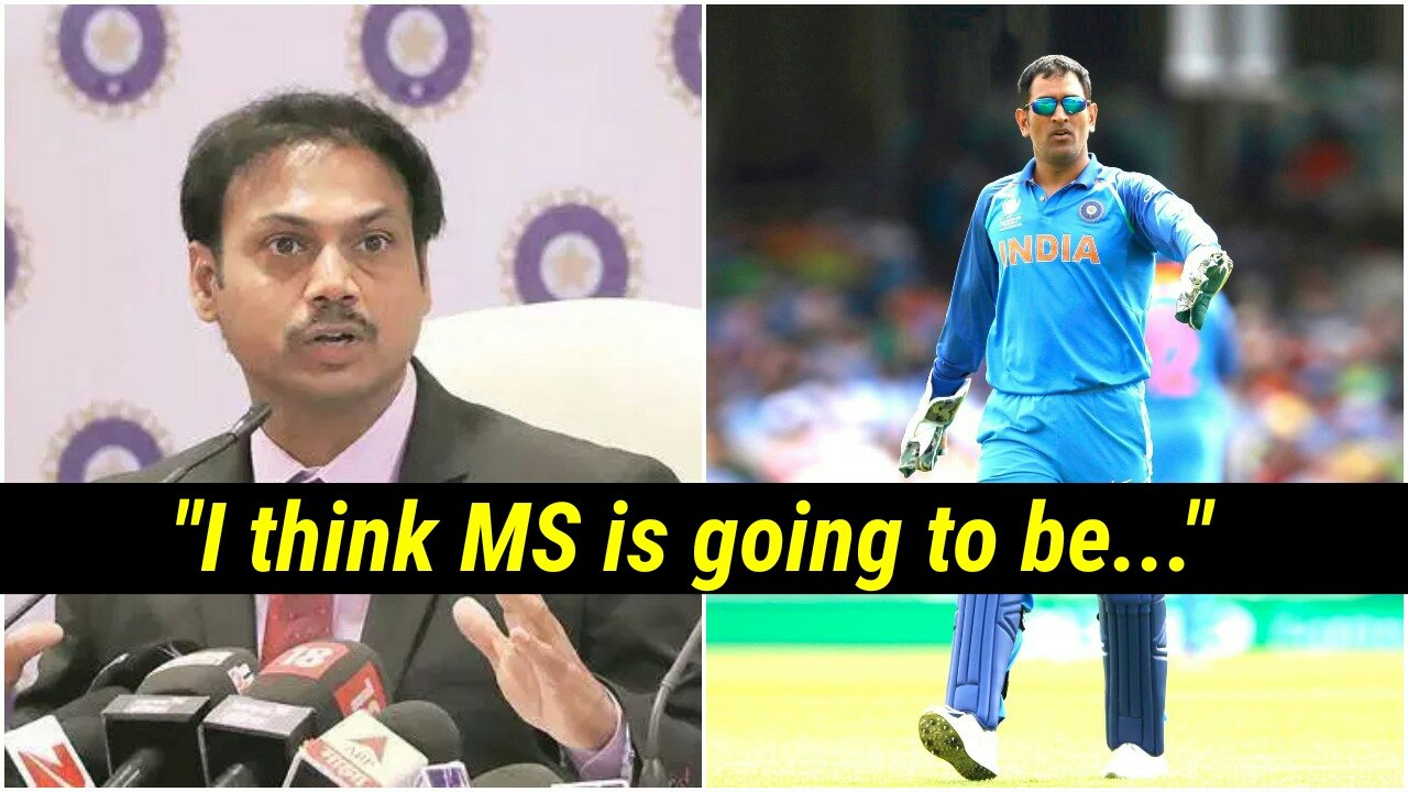MSK Prasad makes a BIG statement on MS Dhoni's importance in the World Cup for Team India