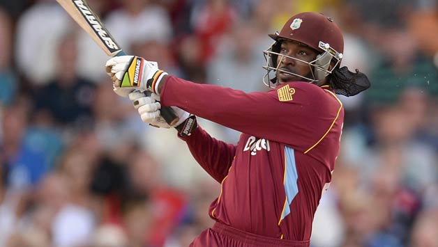 Chris Gayle hits the most sixes in global cricket