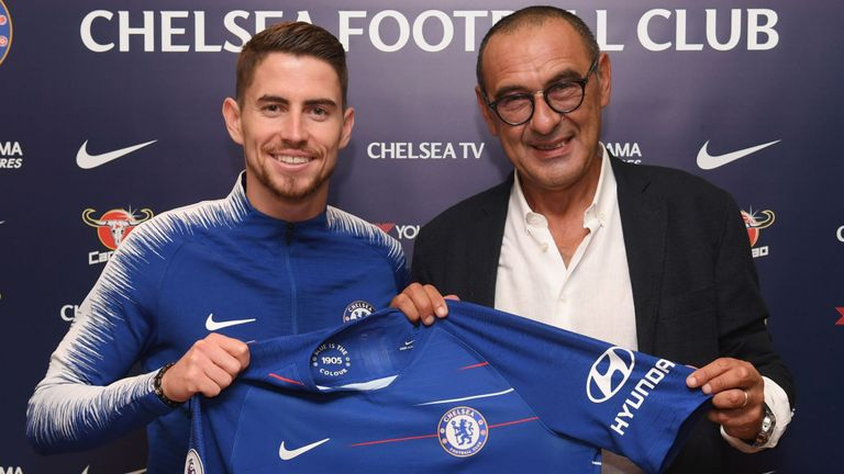 Jorginho needs Chelsea team-mates to adapt to my style, says Maurizio Sarri