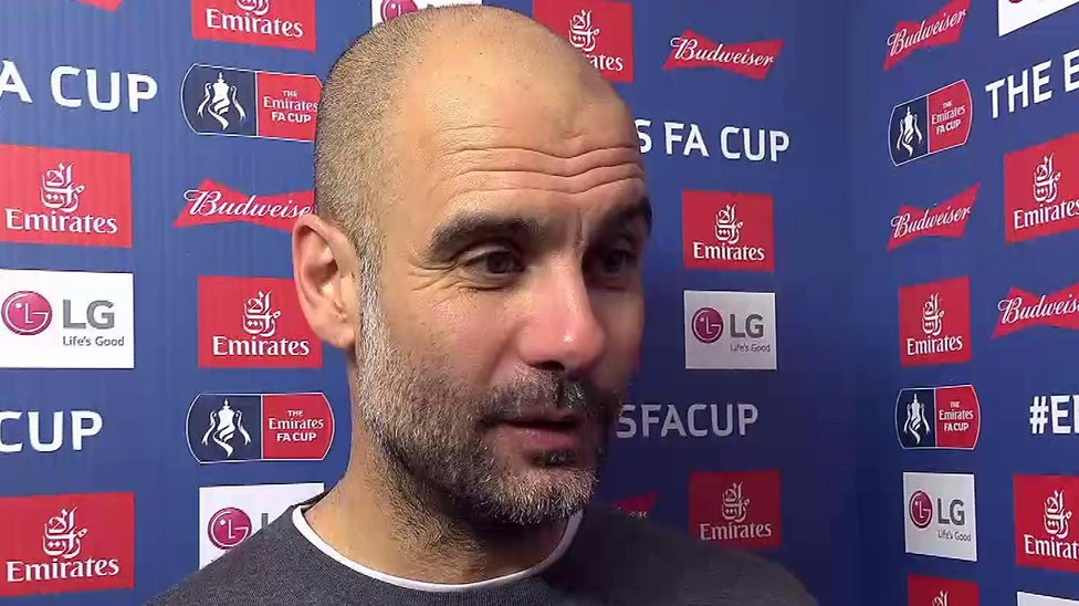 Pep Guardiola gives his view on lack of VAR used in F.A Cup!