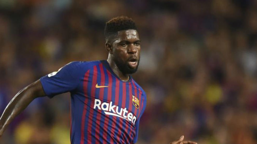 Samuel Umtiti french professional footballer