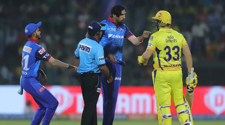 Shane Watson in altercation in IPL win