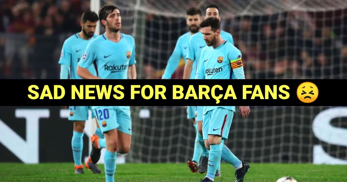 Sad news for marca fans