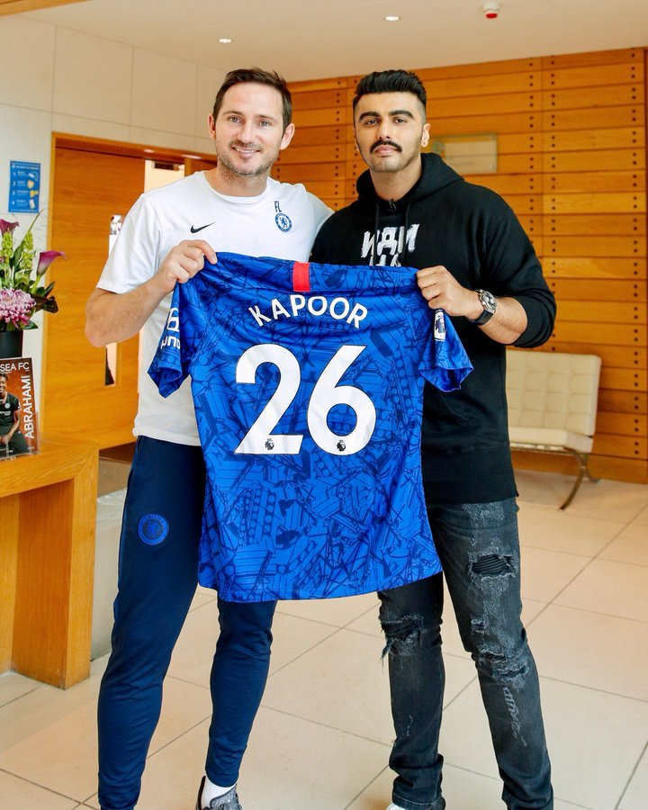 Chelsea named a Bollywood actor as an official brand ambassador for the Indian market.