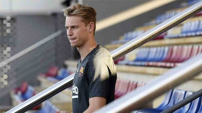 Frenkie De Jong makes a massive confessions getting back in Holland