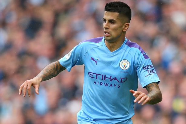 manchester city cancelo is linked to a move to Tottenham hotspurs