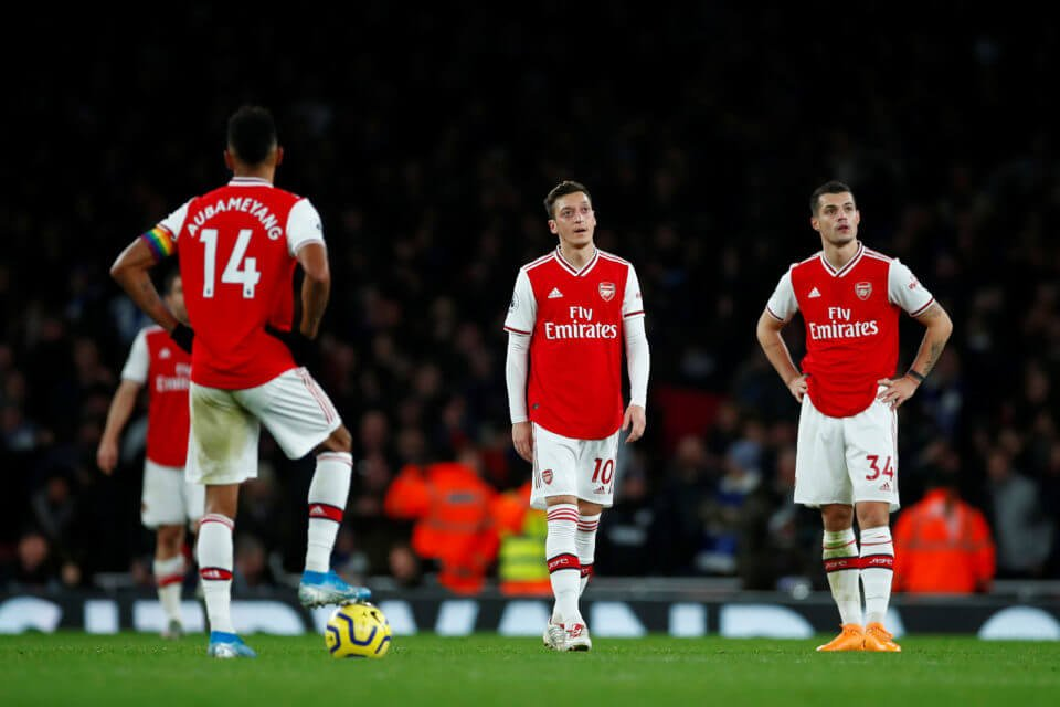 Arsenal have been terrible this seasonSource Cyprus Mail