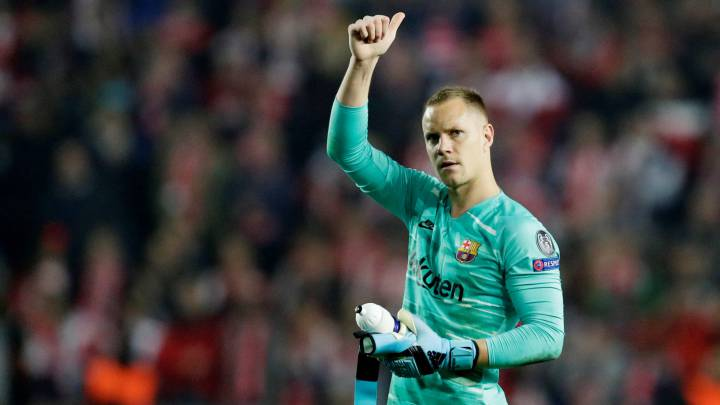 Barcelona goalkeeper Ter Stegen in PL Giant's radar