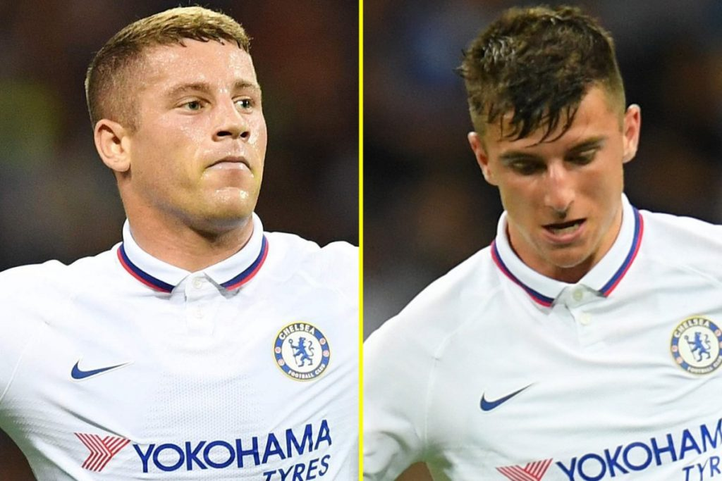 Is Lampard biased towards Mason Mount at Chelsea