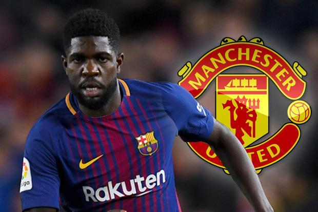 United face competition from Arsenal in signing Umtiti.
