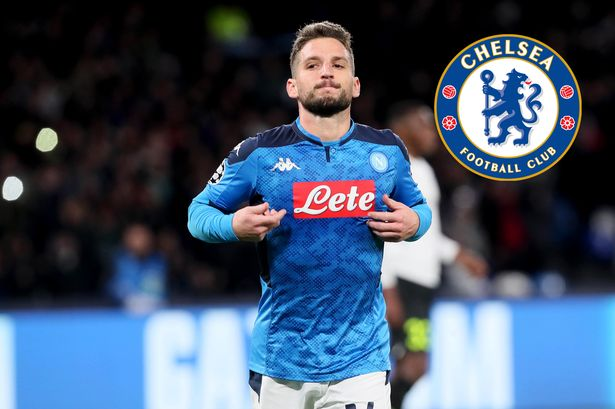 Mertens is on end of his contract with Napoli