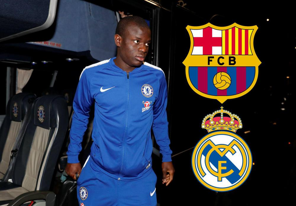 Kante pursuit faces halt as Barcelona faces double trouble