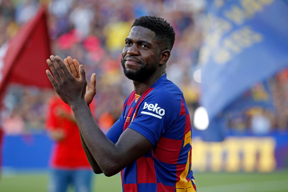 Manchester United and Arsenal identify Umtiti as a defensive transfer target.