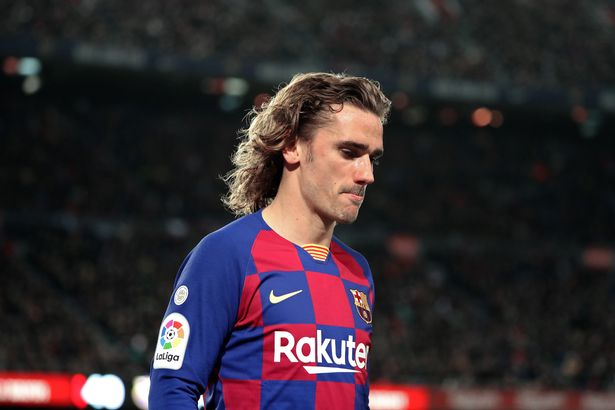 Griezmann isn't enjoying life at Barcelona
