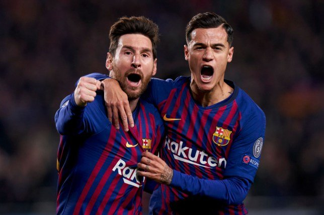 Messi wants Dembele sold Coutinho kept instead