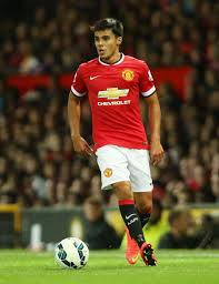 Reece James in his only senior team appearance for United