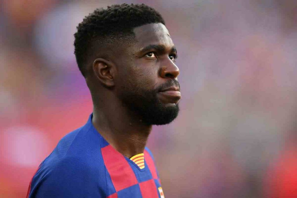 Samuel Umtiti hopes to continue at Barcelona despite exit rumours.