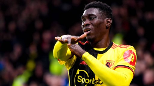 Manchester United could try and sign Sarr as a back up winger.