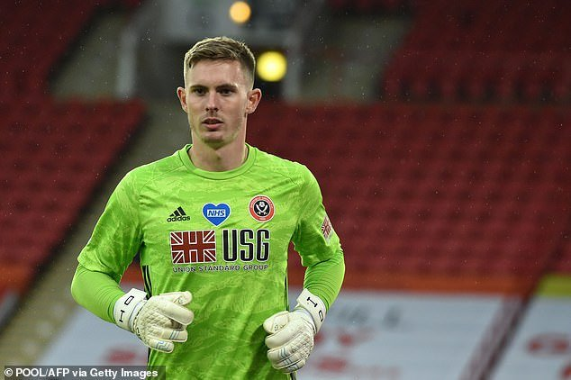 Dean Henderson's statement on comeback
