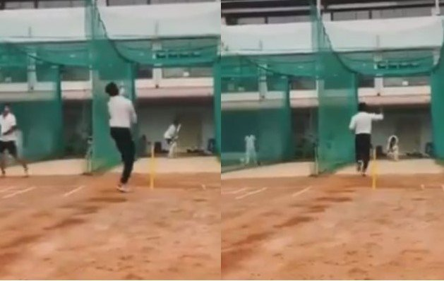 Sreesanth bowls a terrific toe-crusher in nets after announcing his comeback