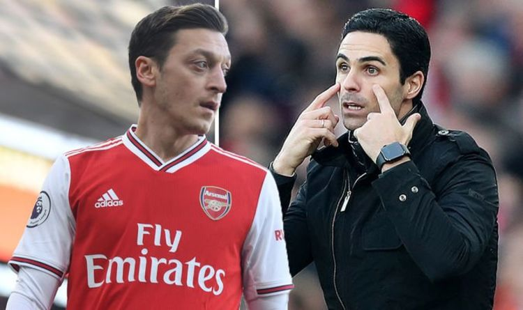 Arsenal dressing room pick sides in Mesut Ozil- Mikel Arteta dispute